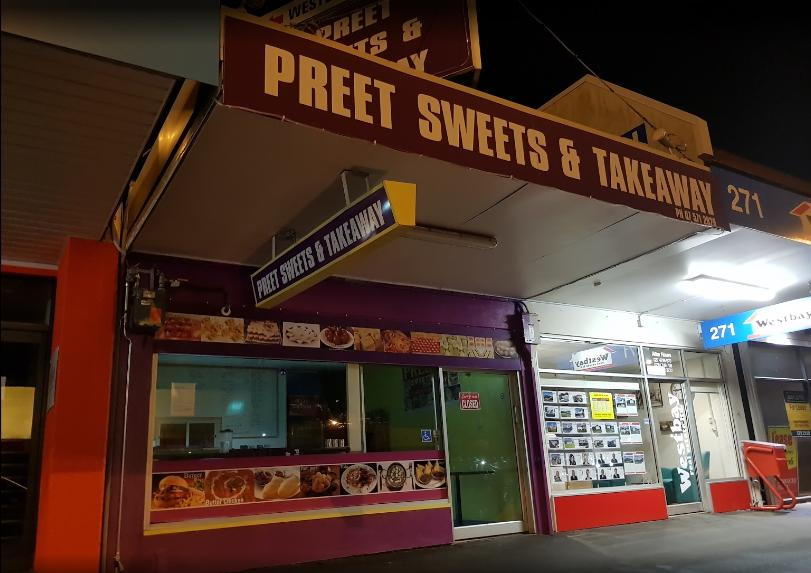 Preet sweets and takeaways
