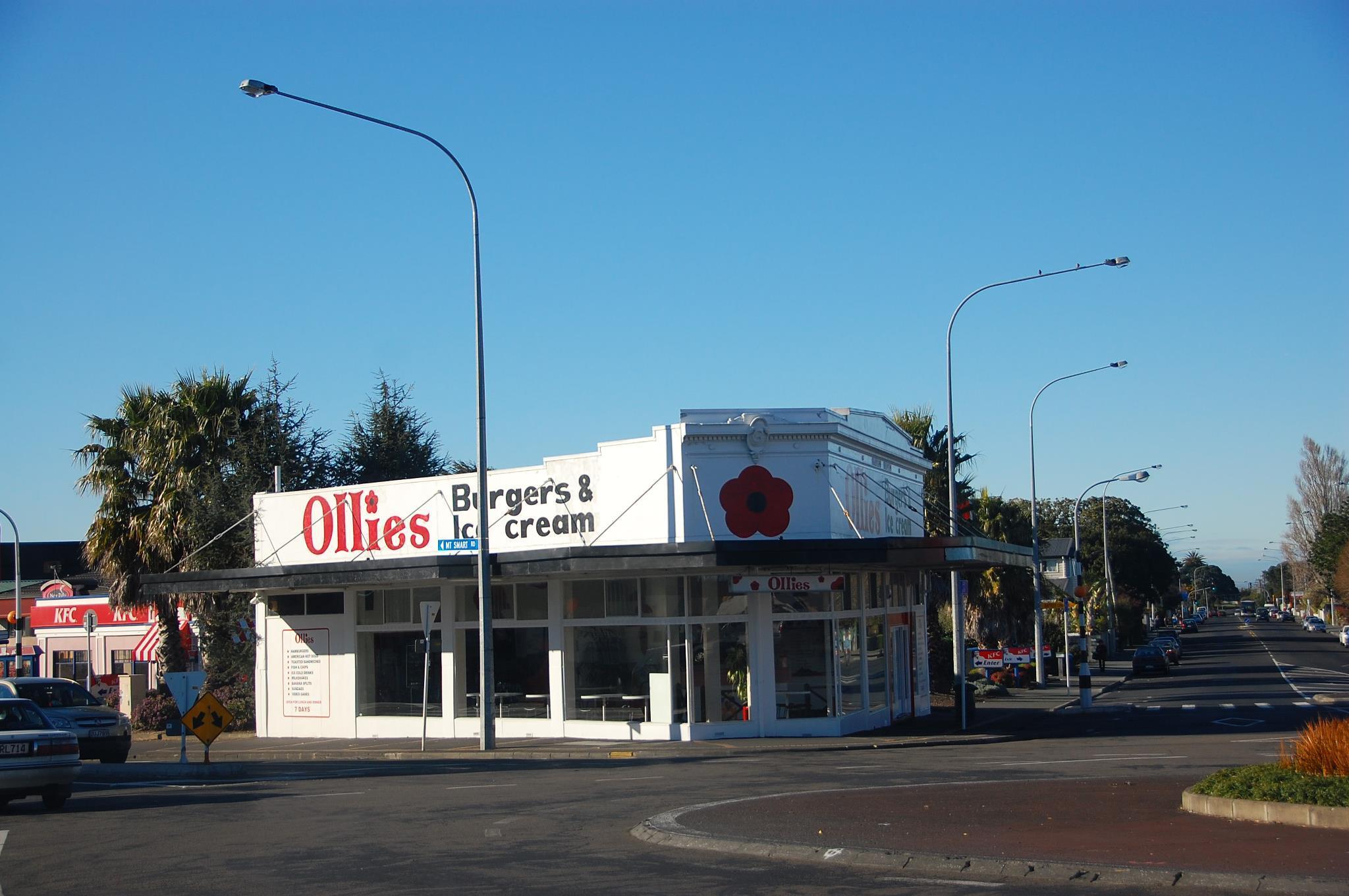 Ollies Burgers & Ice Cream