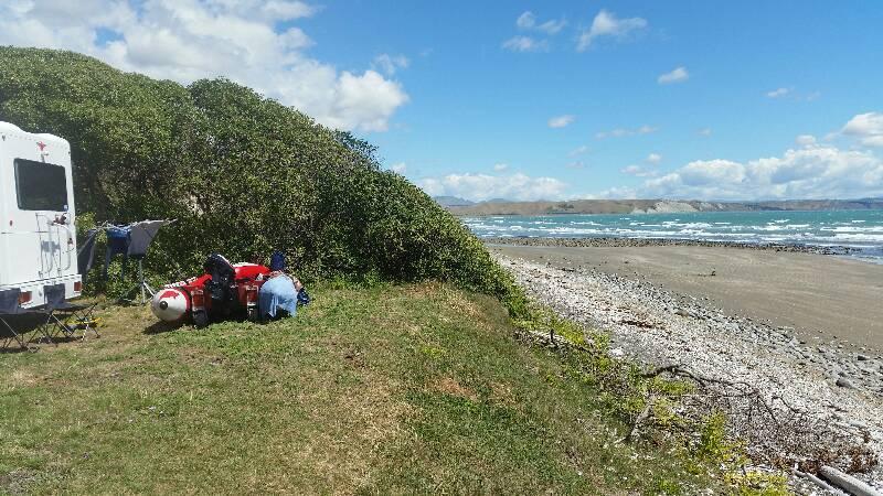 Marfells Beach Campsite