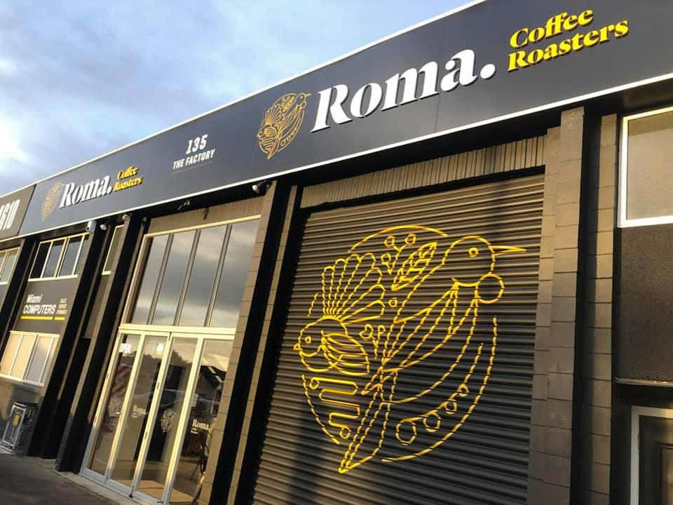 Roma Coffee Roasters Drury
