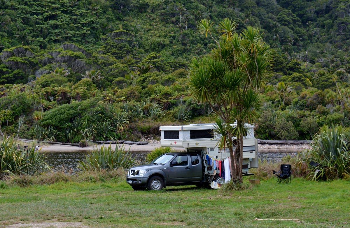 Kohaihai Conservation Campsite