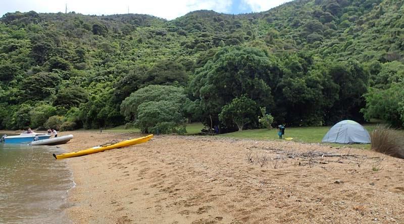 Ratimera Bay Campsite