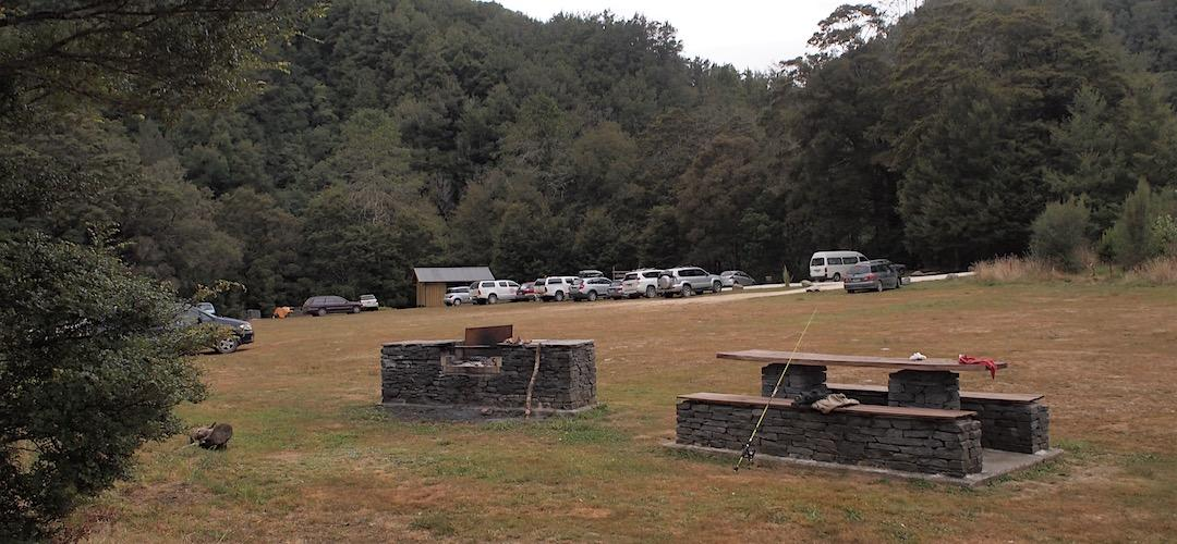 Lyell Camping Ground - Buller Gorge