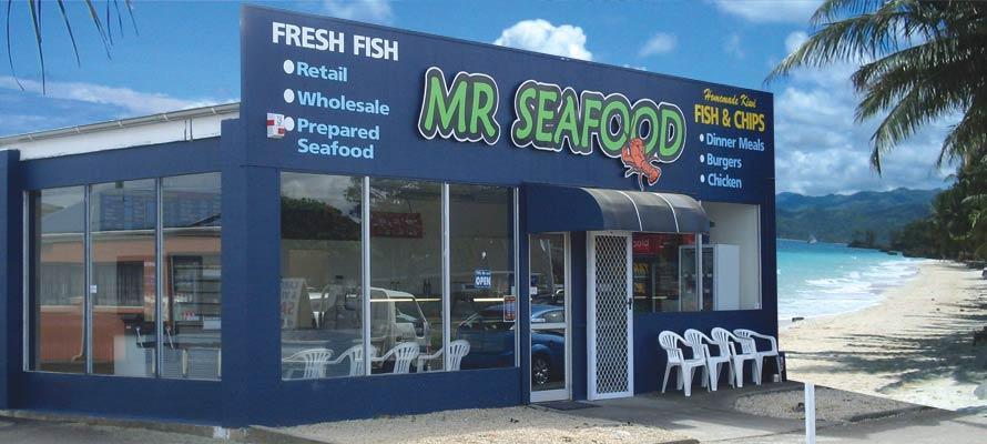 Mr. Seafood Palmerston North