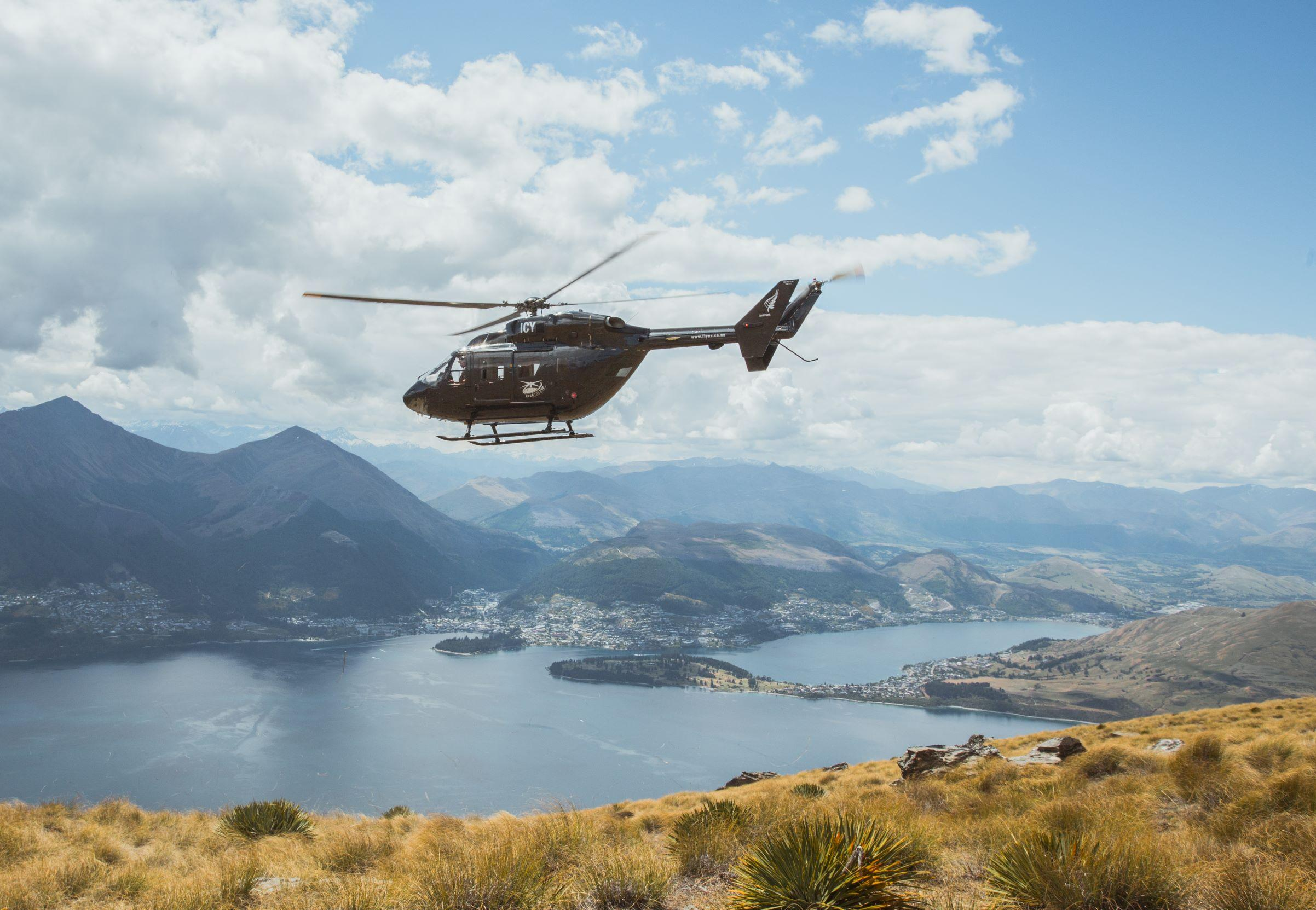 Over The Top Culinary Helicopter Tour