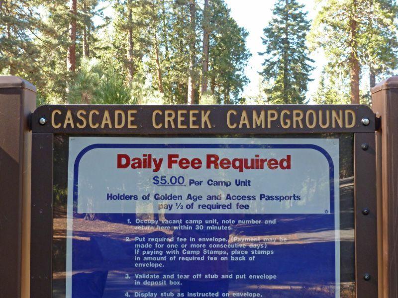 Cascade Creek Campsite
