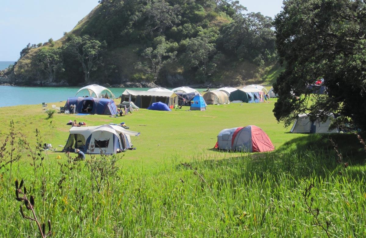 Waikahoa Bay Campsite