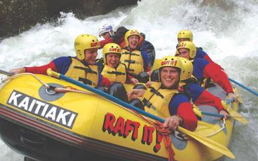 Grade 5 Whitewater Rafting on the Kaituna River!
