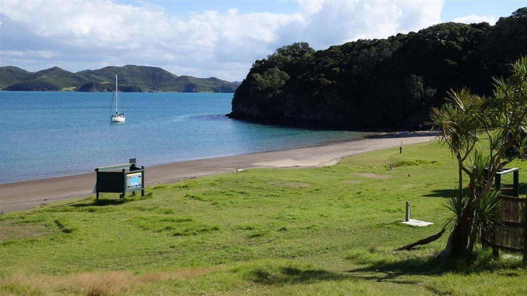 Cable Bay Campsite