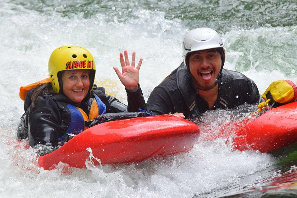 Kaitiaki Adventures - River Sledging