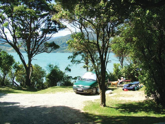 Ngaruru Bay campsite