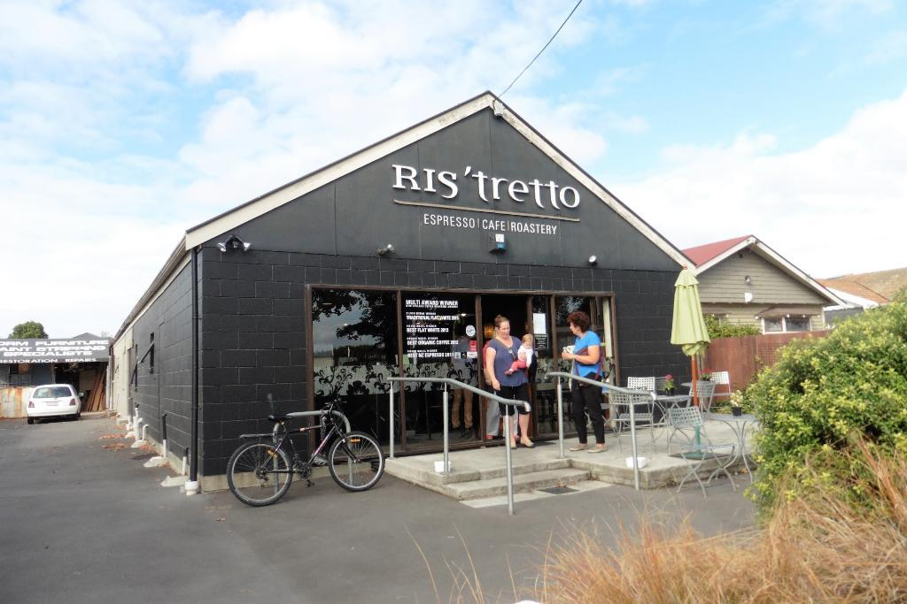 Ris'tretto Espresso, Fair Trade Organic Coffee Roasters and Cafe