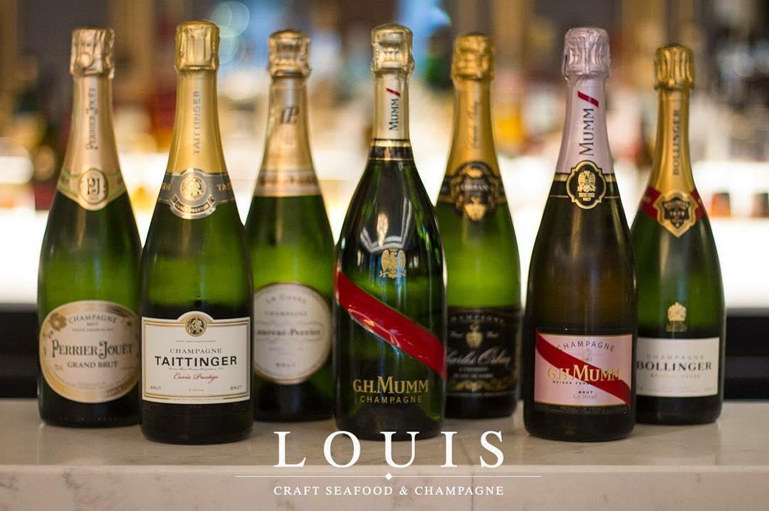 Louis Champagne And Oyster Bar