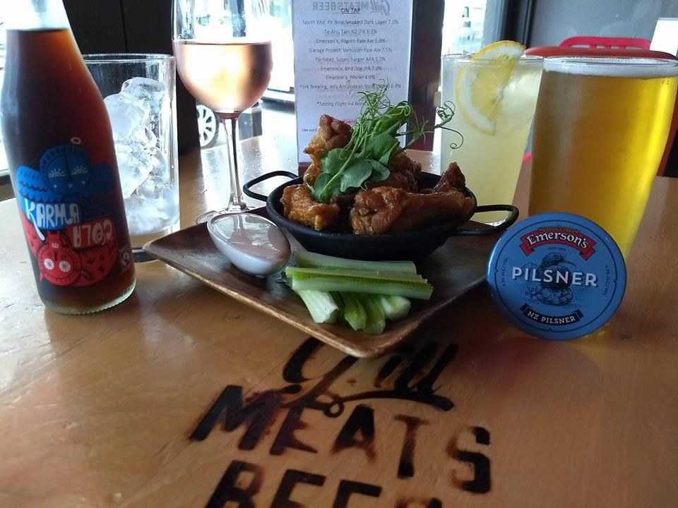 Grill Meats Beer