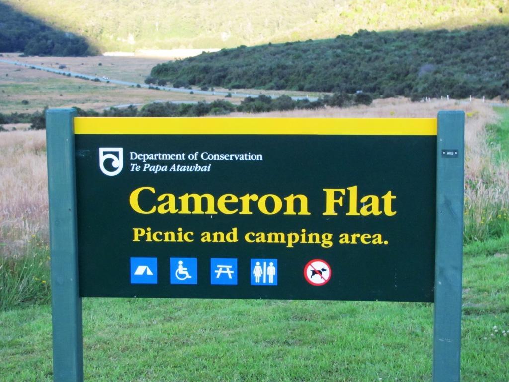 Cameron Flat Campsite