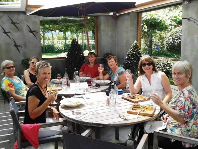 Twelve Trees Vineyard Restaurant at Allan Scott Wines