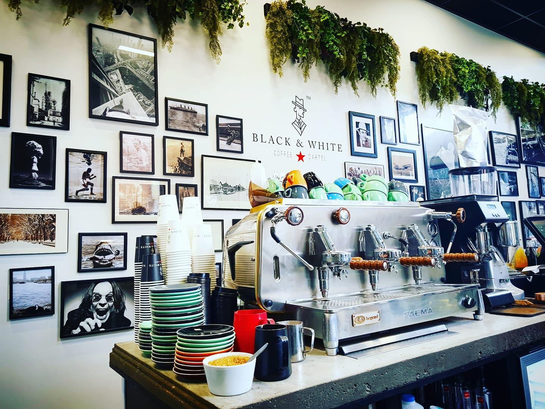 Black & White Coffee Cartel + Houses