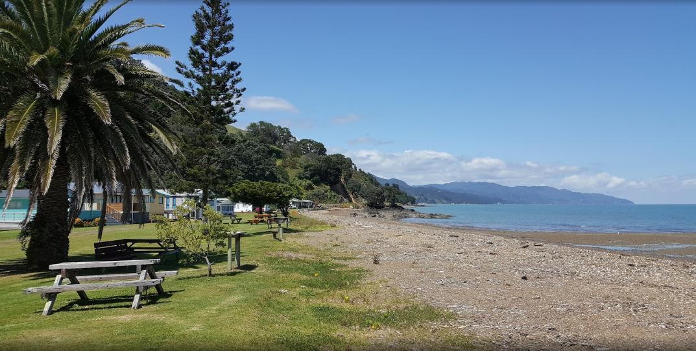 Waikawau Foreshore Reserve Camp