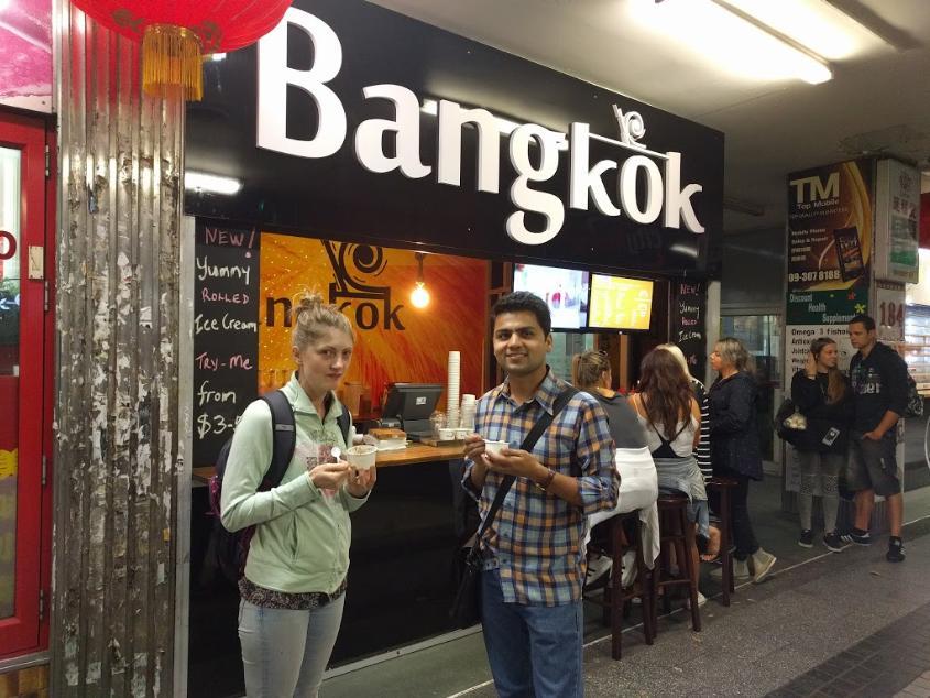 Bangkok Ice Cream Rolls