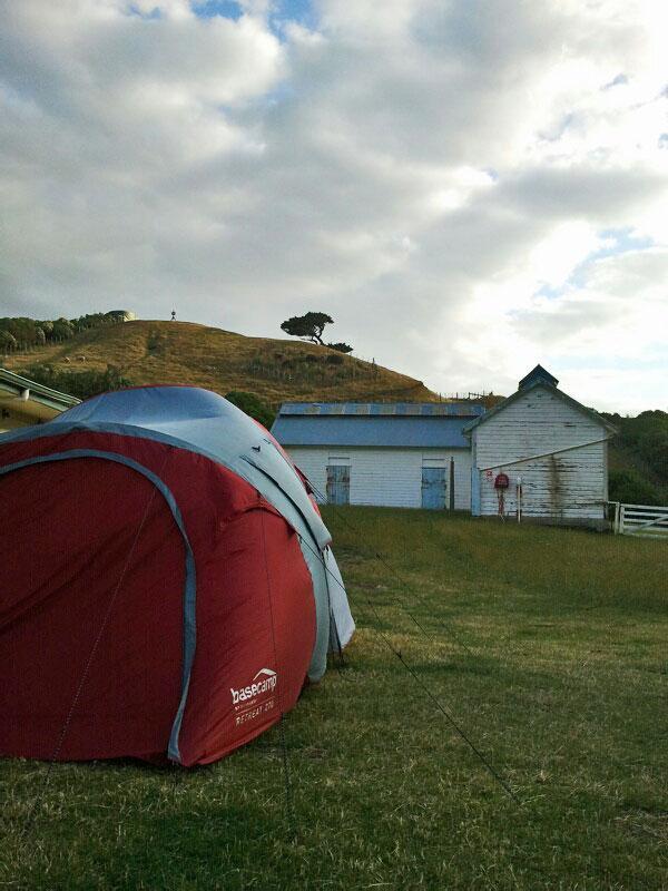 Matiu/Somes Island Campsite