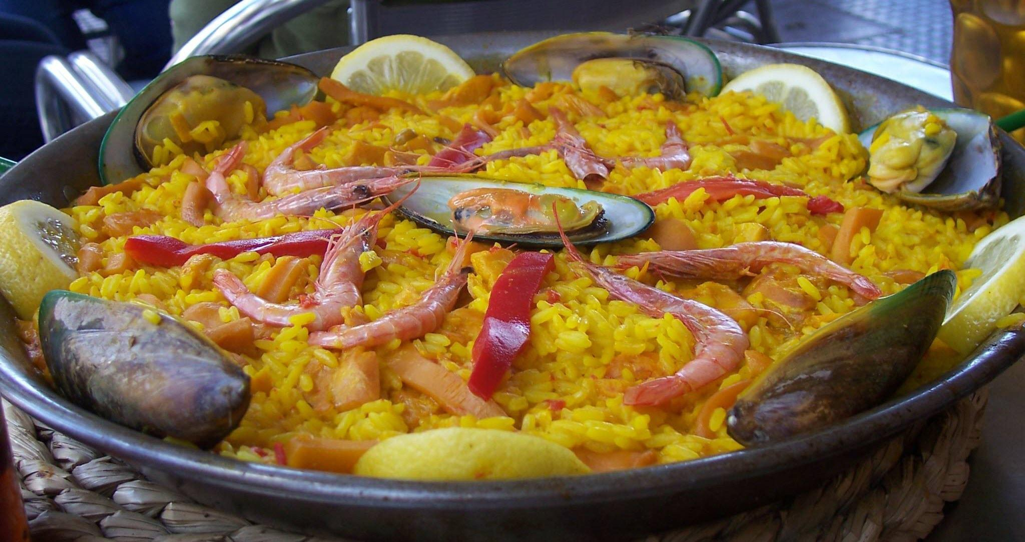 Paella Pan SPANISH CATERING