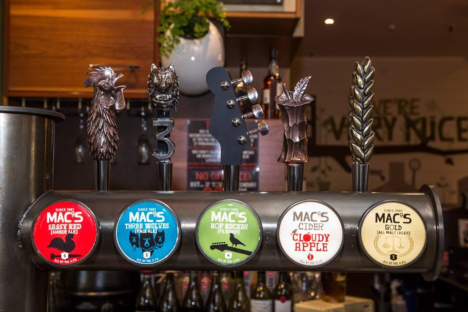The Vic Mac's Brewbar