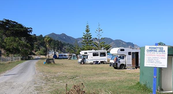Waipiro Bay Campground