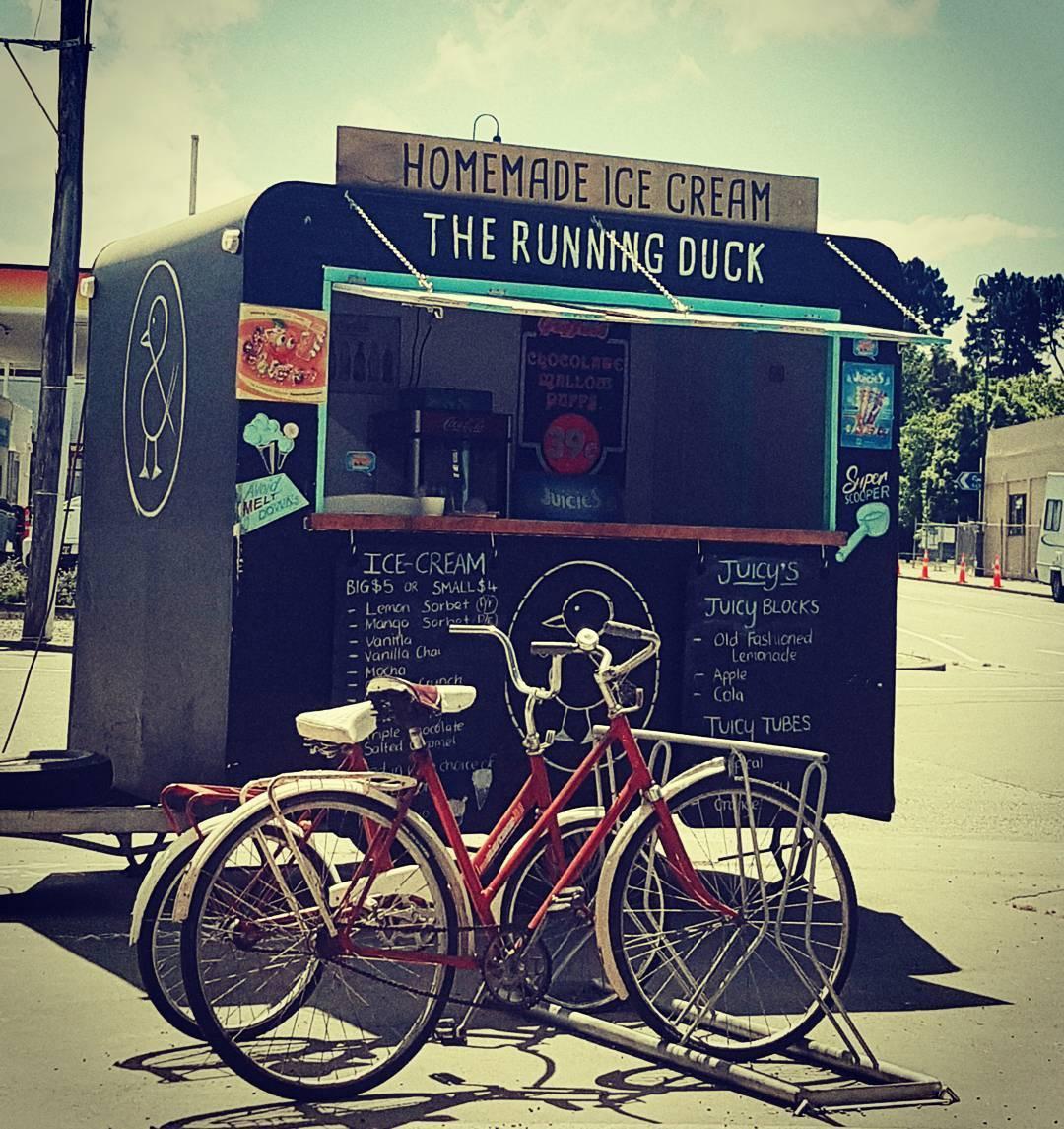 The Running Duck