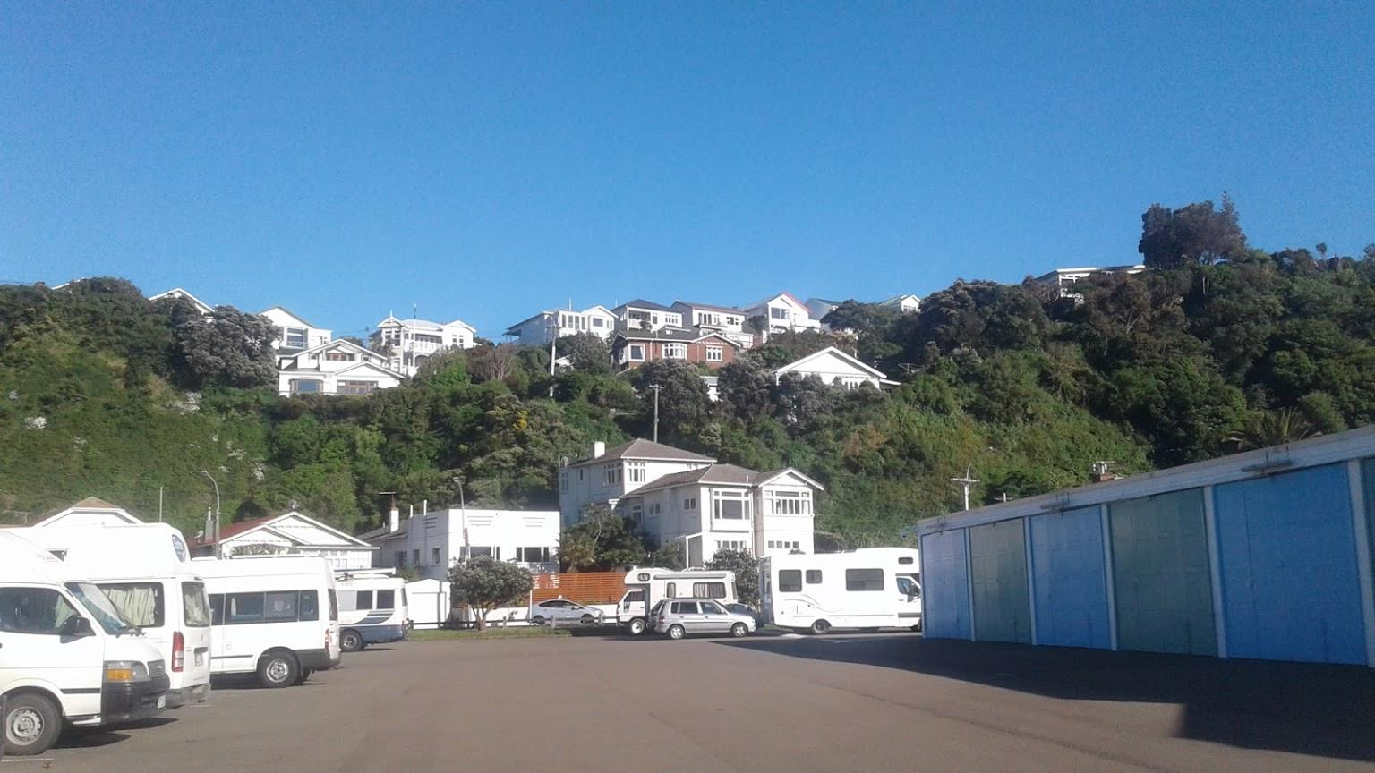 Evans Bay Marina Self Contained Camping