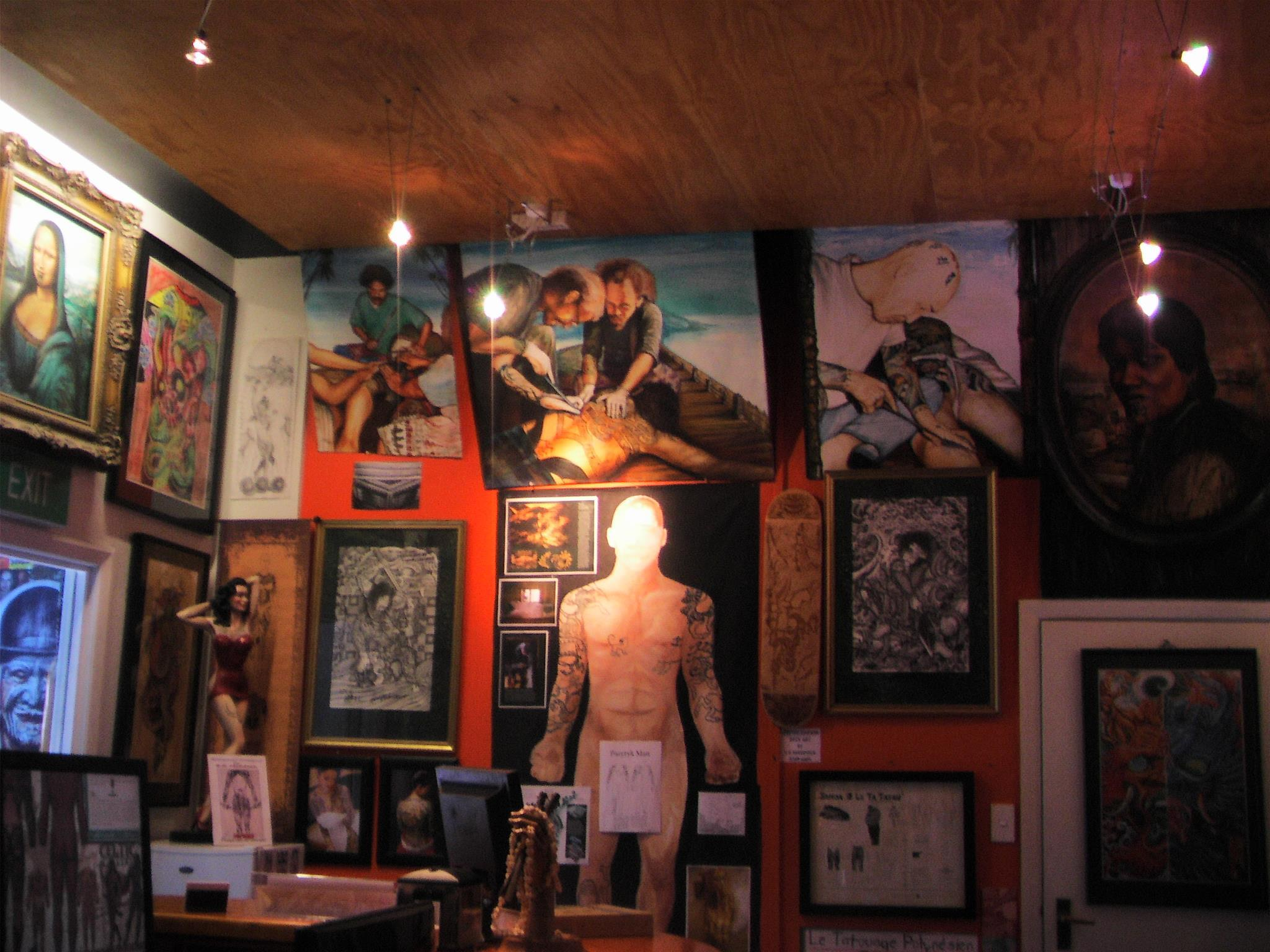 The National Tattoo Museum of New Zealand