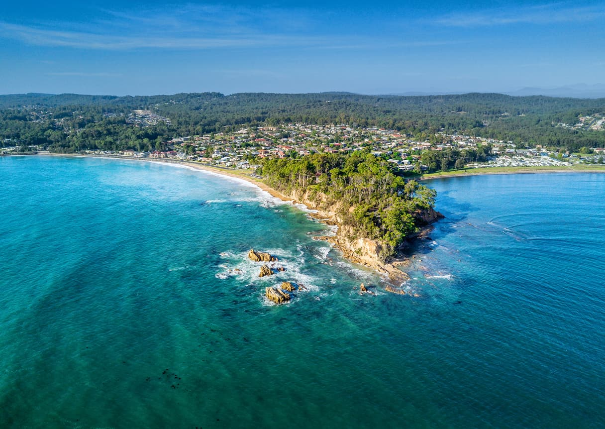 Beautiful NSW coastal town to buy property