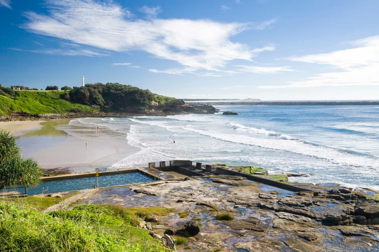 Beautiful coastal town in NSW