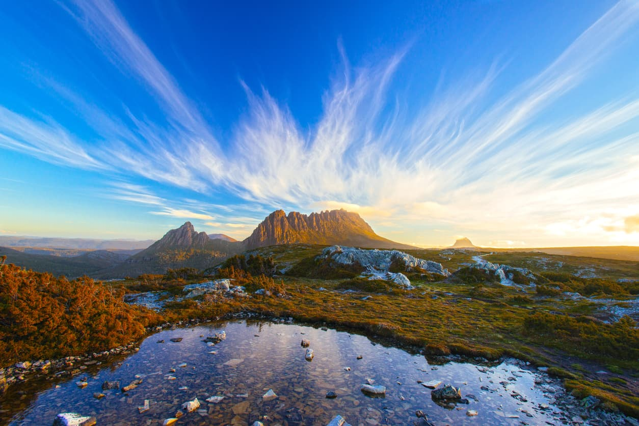 Buying property on Cradle Mountain for under $500k