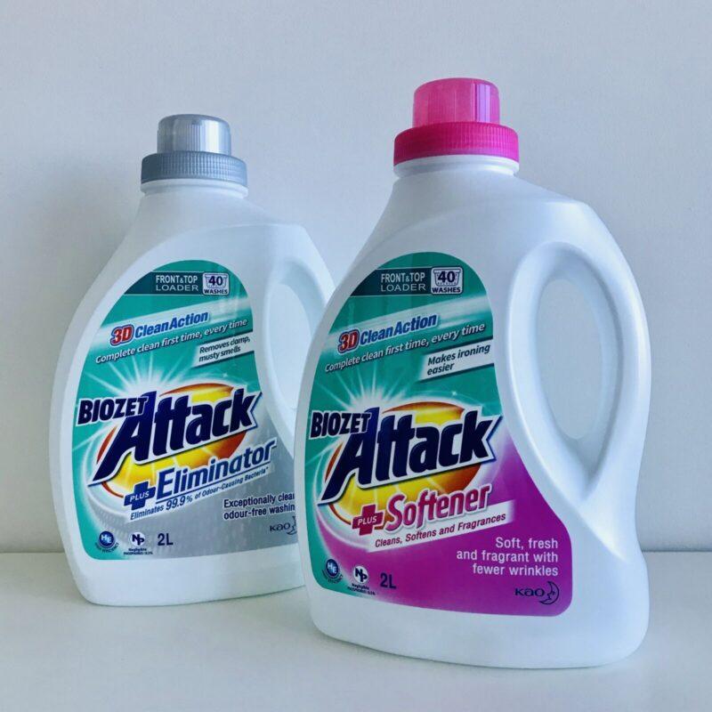 洗濯洗剤   アタック シルバー ピンク