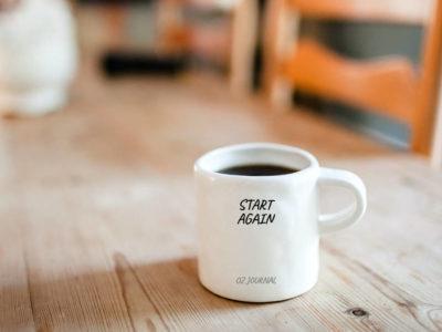 OZ JOURNAL | Start Again