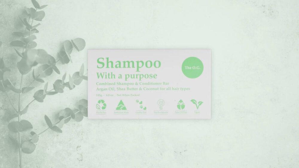 Shampoo with a purpose hero