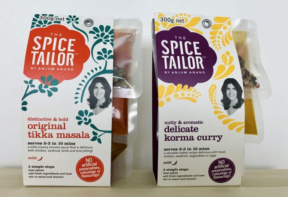 Spice Tailor | ティッカマサラ コルマ パッケージ