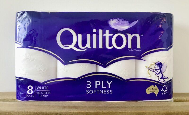 トイレットペーパー   Quilton Classic White