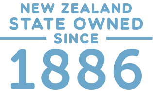 New Zealand state owned since 1886