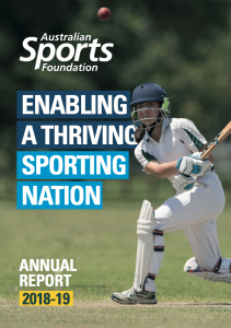Annual Report Cover 2018-19