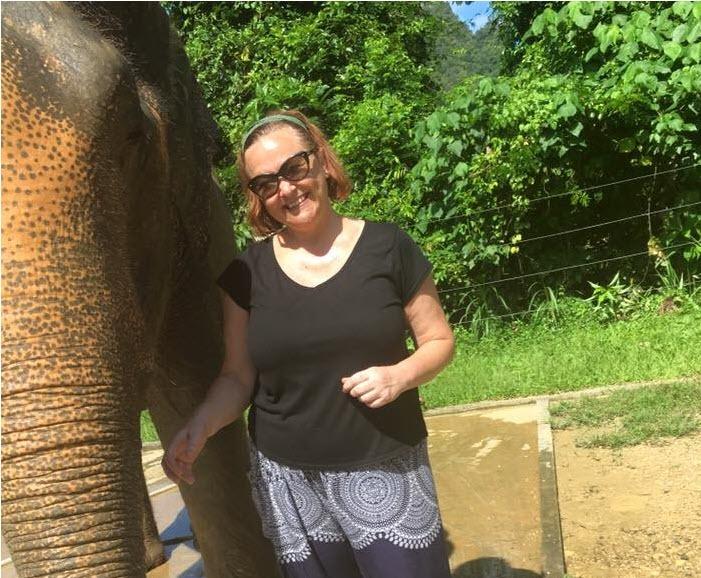 Clothing, Person, Sunglasses, Shorts, Female, Mammal, Animal, Wildlife, Vacation, Face