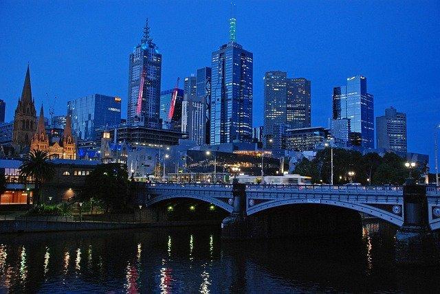 City, Metropolis, Urban, Building, High Rise, Downtown, Architecture, Bridge, Office Building, Water