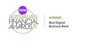 Award: Winner - Best Digital Business Bank