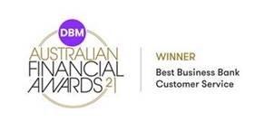 Award: Winner - Best Business Bank Customer Service