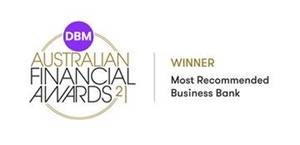 Award: Winner - Most Recommended Business Bank