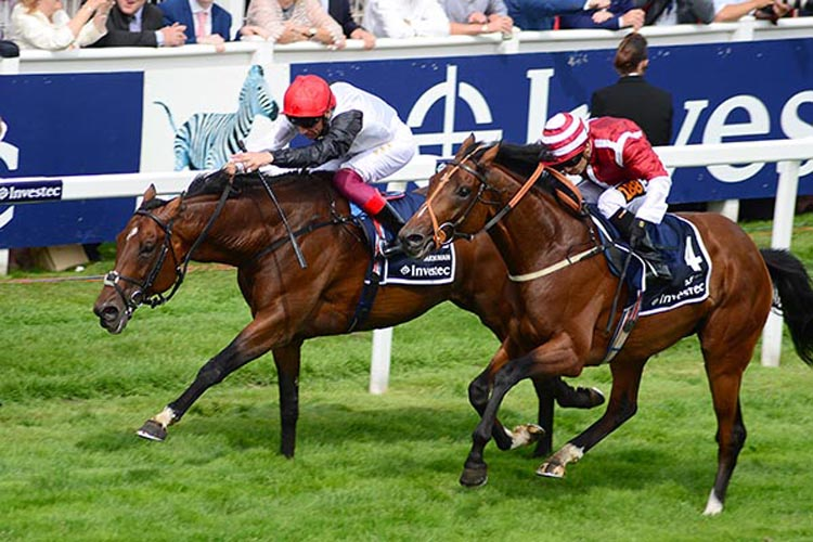 Cracksman steals victory in the Coronation Cup at Epsom