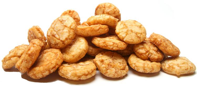 BBQ Rice Crackers