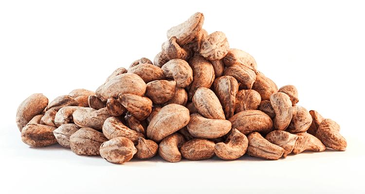 Roast Salted Cashews in Skin