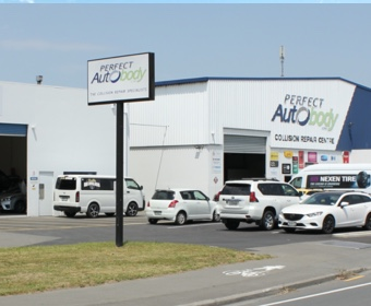 Perfect Auto Body Limited, Christchurch