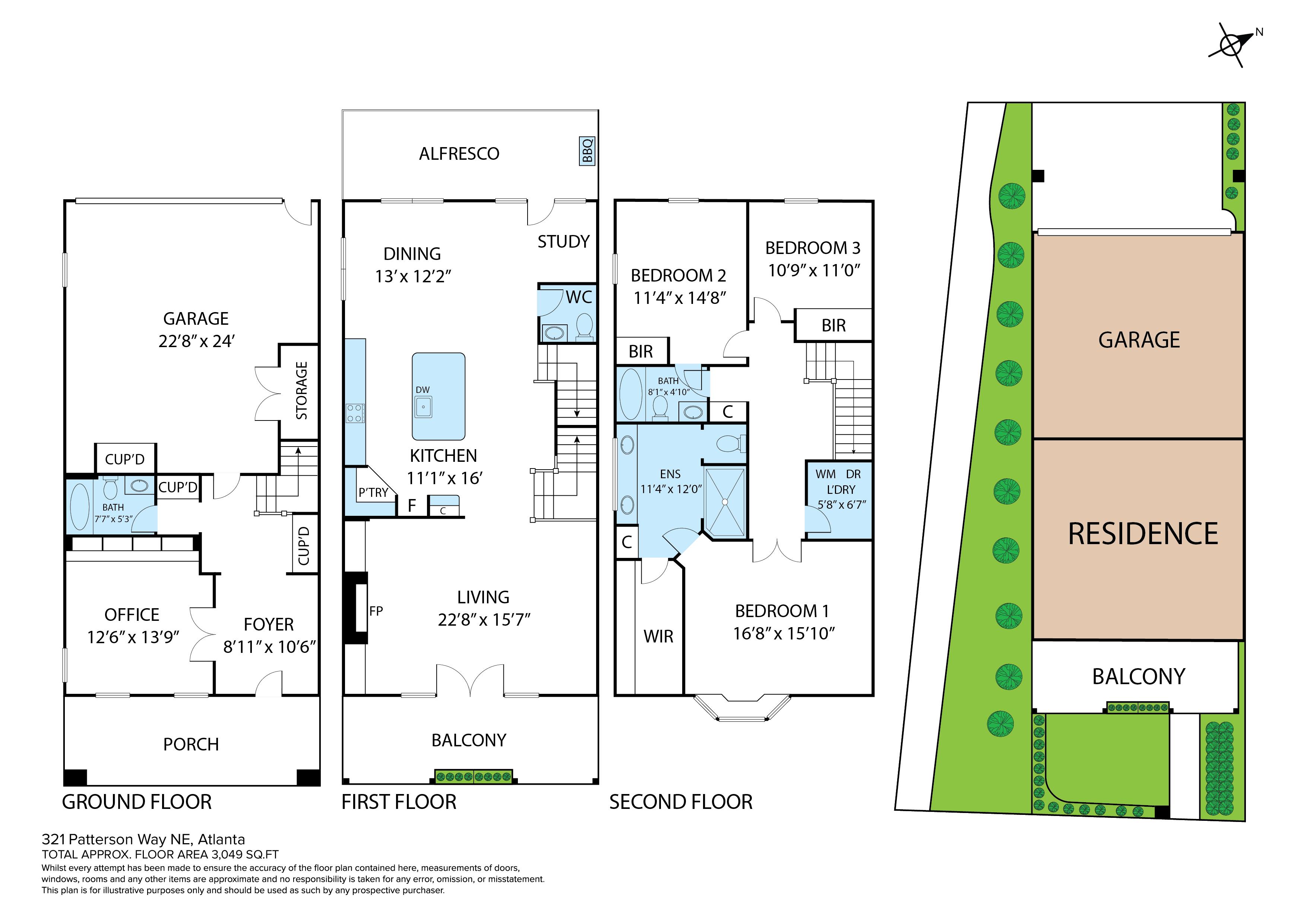 Floor Plan -  Floor Plan -